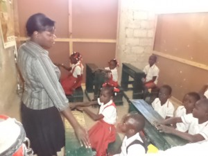 Mrs. Didier Charlemagne (Teacher, First & Second Grades)